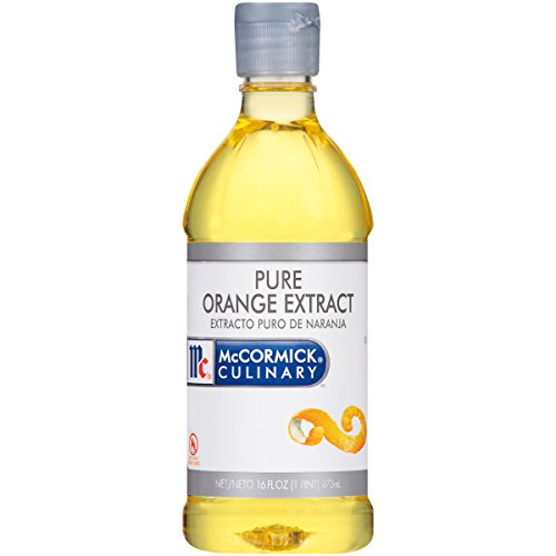 McCormick Culinary Pure Orange Extract, 1 pt, No High Fructose Corn Syrup (Massey Pure Orange Extract)