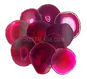 Agate Slice Pink - Small by CrystalAge