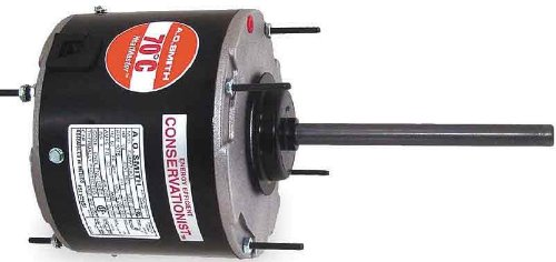 AO Smith ORM5458BF Multi-HP, 5.6-Inch Frame Diameter, 1/6 to 1/3 HP, 1075 RPM, 208-230-Volt, 2-Amp, Ball Bearing