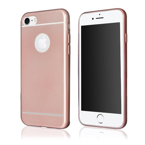 "WEGACELL Waston TPU Case ""Chrome"" für Apple iPhone 7 rose - gold"