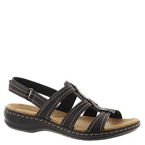 Clarks Leisa Daisy Womens Sandal Black