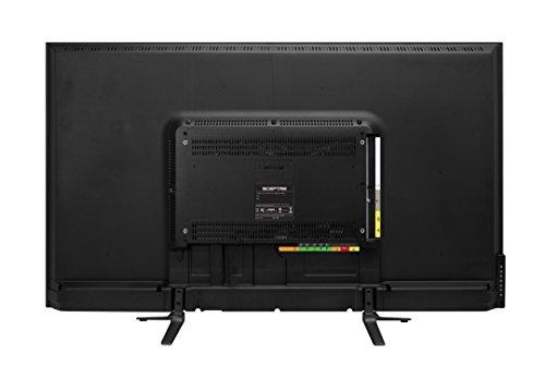 "SCEPTRE 50"" 4K UHD Ultra Slim LED TV 3840x2160 Memc 120, Metal Black 2019 (U518CV-UMS)"