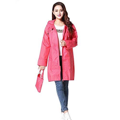 Parka Women Windbreaker Donne Cappuccio Softshell Con Funzionale Giacca Rose Battercake Raincoat Impermeabile Casuale E1Cwwq