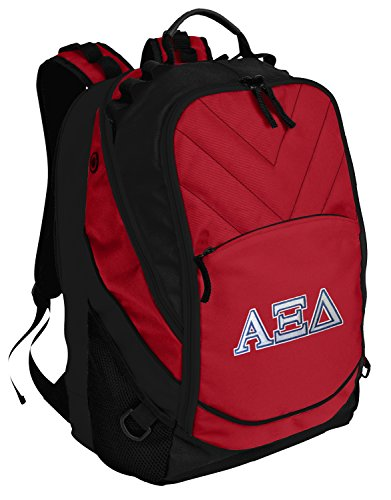 Broad Bay AZD Sorority Backpack Red Alpha Xi Laptop Computer Bags