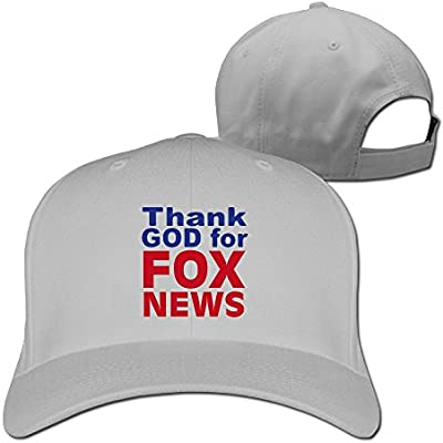 084dd3ce2f9 Sandwich Peaked Cap 100% Cotton Thank God For Fox News Personalized Style  Hats New Design