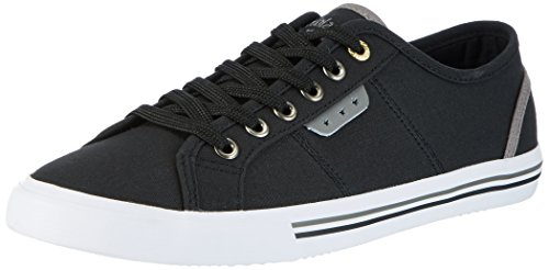 Uomo Baskets Noir d'Oro Low Black Pantofola Canvas Homme Arda FwtAqwnz