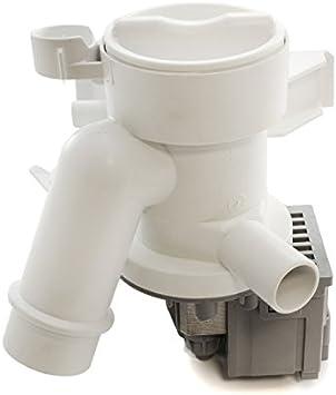 daniplus 41018403 - Bomba de desagüe con boquilla de bomba y filtro para lavadoras Candy Hoover