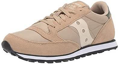 Saucony Originals Men's Jazz Lowpro Sneaker, Khaki/Green, 7 M US
