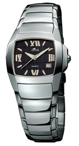 Lotus 15316-5 - Reloj de mujer de cuarzo con correa de acero inoxidable plateada: Amazon.es: Relojes