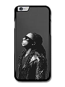 Lil Wayne Black & White Portrait Rapper Singer case for iPhone 6 Plus