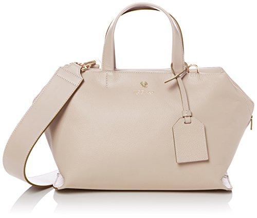 Modalu Womens Sienna Small Top-Handle Bag Cream