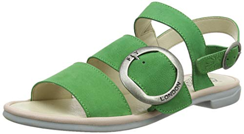 Bout Sandales Ouvert lime nude Green 002 Coda006fly Fly Pink Femme Vert London qtRaxBnWwT