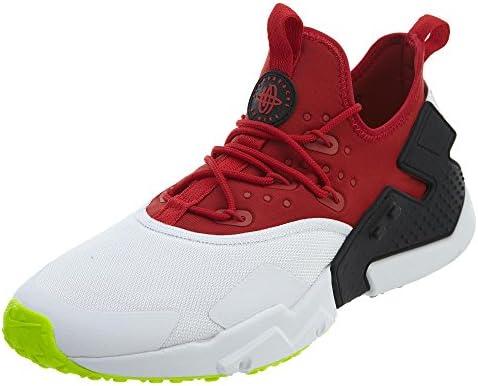 NIKE Air Huarache Drift Gym Red/White-Black-Volt (10 D(M) US): Buy ...