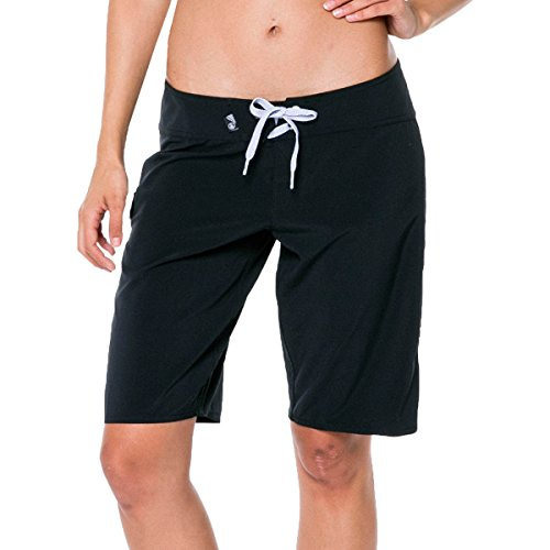 2e36ae92ec Volcom Women's Simply Solid 11 Inch Boardshorts, Black, 5 - Buy Online in  Oman. | Apparel Products in Oman - See Prices, Reviews and Free Delivery in  Muscat ...