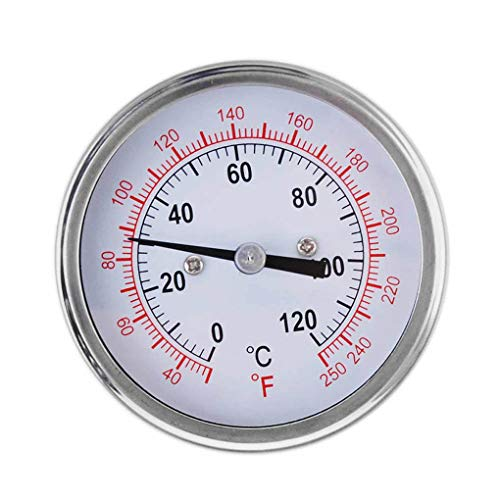 Price comparison product image High Precision Stainless Steel Oven Thermometer Household Dual Gage Temp Gauge Kitchen Food Meat Thermometer Dial Miaomiaogo