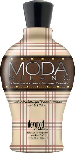 Devoted Creations Moda Milano Tanning Lotion Cashmere Blende