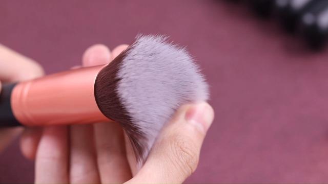 BS-MALL Makeup Brushes Premium Synthetic Foundation Powder Concealers Eye Shadows Makeup 14 Pcs Brush Set, Rose Golden… 7