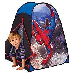 Marvel Spiderman Pop Up Tent Spider Sense - Kids Indoor Outdoor Toy  sc 1 st  Amazon UK & Marvel Spiderman Pop Up Tent Spider Sense - Kids Indoor Outdoor ...