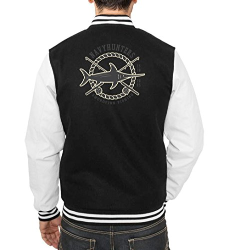 Swordfish Fishing College Vest Black Certified Freak
