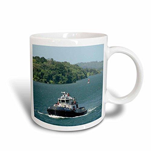 3dRose 86902_2 Panama Mug 15 oz White