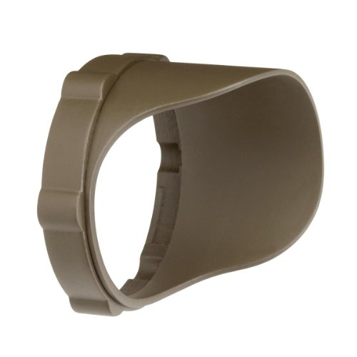 Kichler 15702AZTP Accessory Snap-on Cowl - Short 12.4W, Textured Arch Bronze Polycarbonate