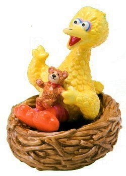 (Sesame Street Big Bird Salt and Pepper Shaker Set)