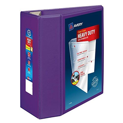 Avery Heavy Duty Binder Purple 79816