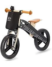 kk Kinderkraft löpning av trä löpare utbildning cykel barncykel löphjul för barn baby barncykel med bärhandtag väska för småsaker och klinga 12 tum från 3 år