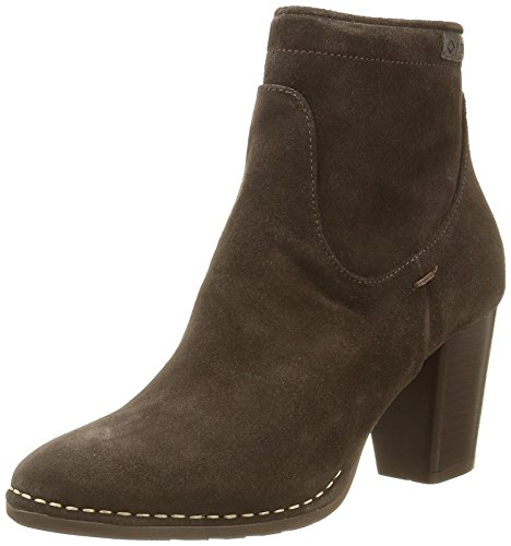 P-L-D-M-by Palladium Womens 74832 Onside SUD Heeled Suede Ankle Boots Brown Size 41 hF0a6q