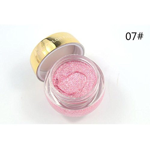 UMFun Eye Makeup Pearlescent Monochrome Eye Shadow Durable Glitter Eye Shadow Cream - Material Pearlescent