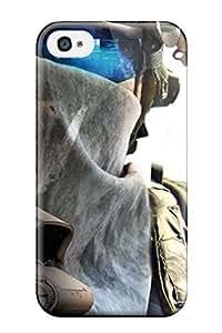 Excellent Design Ghost Recon Future Soldier Phone Case For Iphone 4/4s Premium Tpu Case