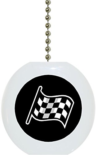 Carolina Hardware and Decor 1111F Black Checkered Flag