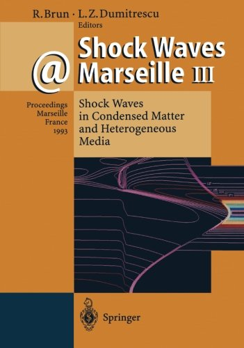 Shock Waves @ Marseille III: Shock Waves in Condensed Matter and Heterogeneous Media by Brand: Springer