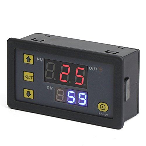 DROK DC 12V Digital Timer Relay Board, Automotive 1500W R...