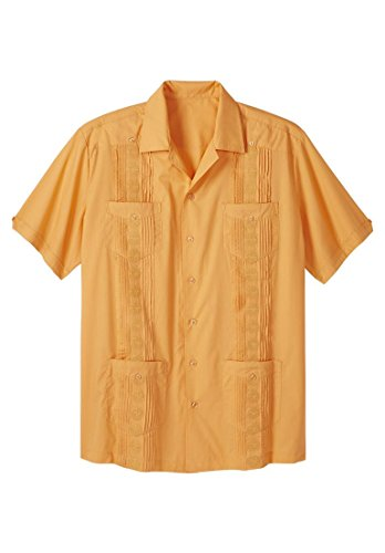Kingsize Mens Tall Guayabera Shirt