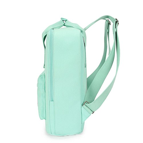 5578e2771196 Chic Star Girls Cute Young Korean Style Square Backpack Schoolbag Light Blue