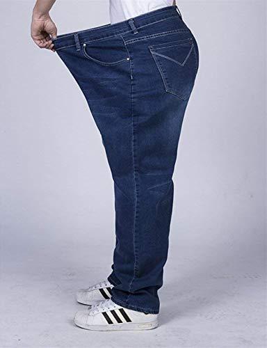 Casuali Del Classiche Lunghi Degli Modo Dei Pantaloni Fashion Ragazzi Uomini Laisla Blau Di Affari Denim 0qBFEnwz