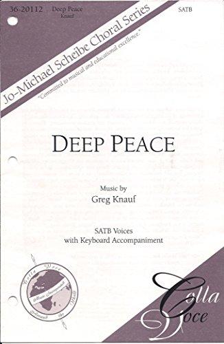 Deep Peace - SATB with Keyboard Accompaniment