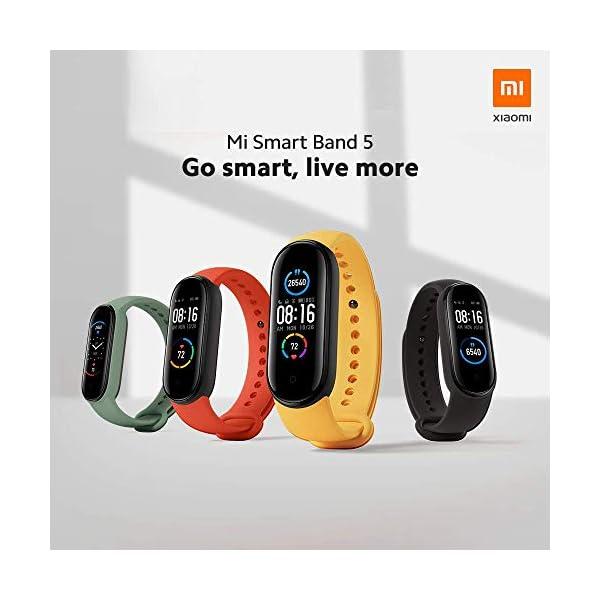 Xiaomi Band 5 Orologio Fitness Tracker Uomo Donna Cardiofrequenzimetro da Polso Contapassi Smartband Sportivo Activity…