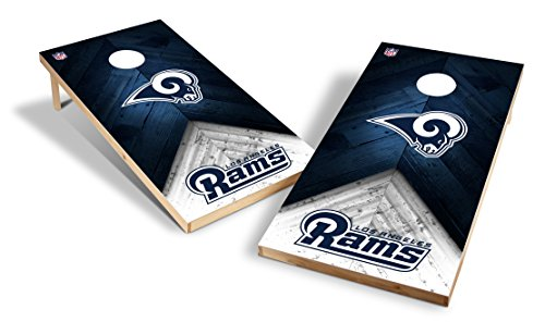 Wild Sports NFL 2'x4' Los Angeles Rams Cornhole - Hole Ram