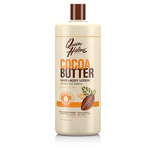 Queen Helene Hand + Body Lotion, Cocoa Butter, 32 Ounce [Packaging May Vary]