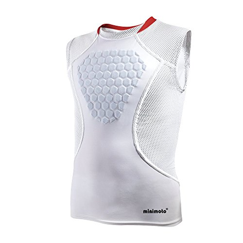 Minimoto Chest Protector, Heart-Guard/Sternum Protection Shirt for Baseball & Football, Youth Sizes – DiZiSports Store