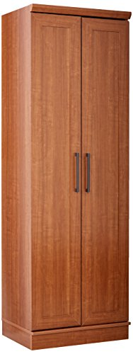 Sauder HomePlus Basic Storage Cabinet, Sienna Oak