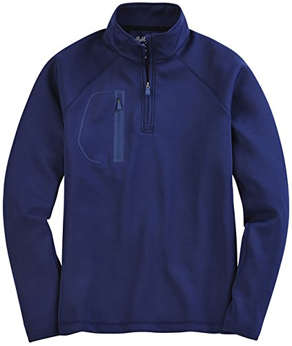 Bobby Jones Men's Xh2O Performance Crawford Pullover Golf Jacket, Summer Navy, X-Large