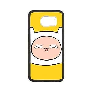 Samsung Galaxy S6 Cell Phone Case Black_Adventure Time Finn Hoefb