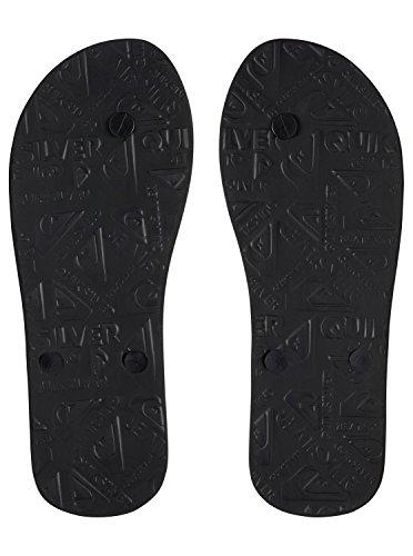 Chanclas Grey Fade Logo Hombre Black Black Quiksilver Slash para Molokai AQYL100564 vqwx4xI