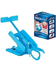 Sock Slider - The Easy on, Easy off Sock Aid Kit & Shoe Horn | Pain Free No Bending, Stretching or Straining System that Packs up for Convenient Travel, As Seen on TV