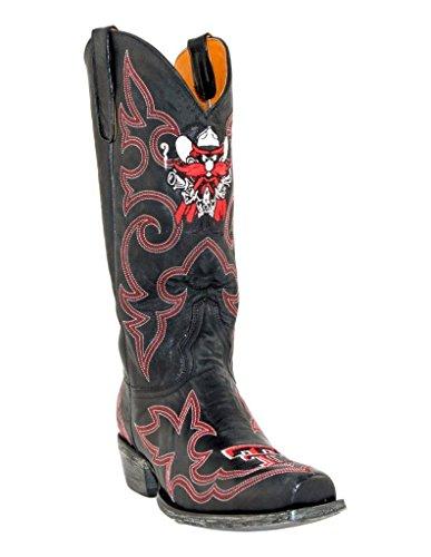 - NCAA Texas Tech Red Raiders Men's Gameday Boots, Black, 8 D (M) US