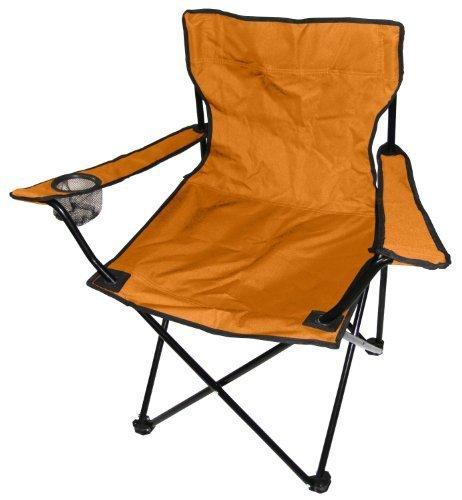 /Sedia da Campeggio Spetebo Camping Sedia Pieghevole in Arancione/