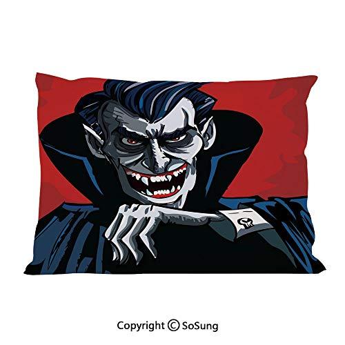 SoSung Vampire Bed Pillow Case/Shams Set of 2,Cartoon